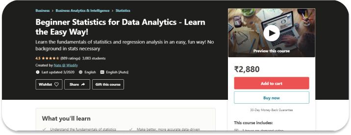Beginner Statistics for Data Analytics – Learn the Easy Way!