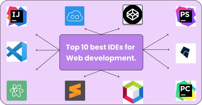 Top 10 best IDEs for Web development.