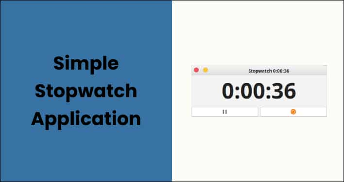 Simple Stopwatch Application