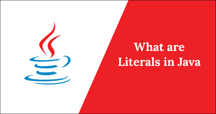 What are literals in java