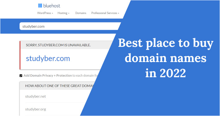 Best place to buy domain names